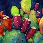 """Prickly Pear"" by HaileyWatermedia"