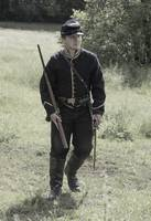 Charging Civil War Soldier