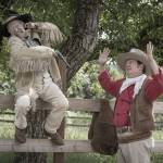 """Dave Souza and John Wayne in Mock Gunfight"" by SederquistPhotography"