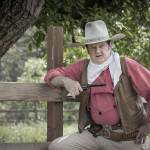 """Re-enactor ""John Wayne"" with Pistol"" by SederquistPhotography"