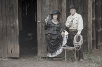 Belle Starr and Cole Younger