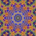 """Twelveth Mandala Of Life For A Rosy Spring"" by johngrovesart"