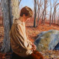 Freedom of Religion: Joseph Smith, April 6, 1820 Art Prints & Posters by Lester Yocum