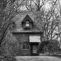 The Carriage House in B&W Art Prints & Posters by Kirt Tisdale