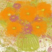 ORL-648-1 Orange Flowers II