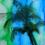 """ORL-2043-1-3 Palm tree tropical"" by Aneri"