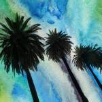 """ORL-2058 Santa Monica Palms"" by Aneri"