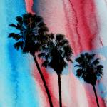"""""""ORL-2062 Los Angeles Palms"""" by Aneri"""
