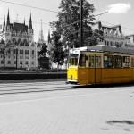 """Yellow Tram"" by raetucker"