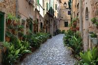 The street in Valldemossa