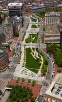 Boston's Greenway Aerial
