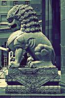 Chinese Guardian Stone Lion