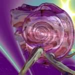 """""""ALIEN NEREIDE,NYMPH OF WATER ,PINK SEASHELL Sci-Fi"""" by BulganLumini"""