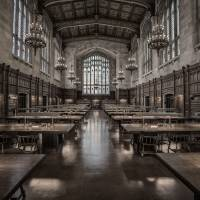 University of Michigan Law School Reading Room Art Prints & Posters by James Howe