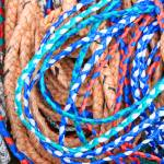 """Colorful Braided Rope"" by rhamm"