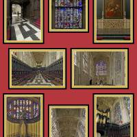 King's Interior Composite Red Art Prints & Posters by Priscilla Turner
