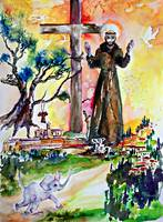 Saint Francis of Assisi Christian Symbolism Art