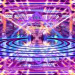 """Rave Vision Synesthesia - Psychedelic Geometric Ar"" by LeahMcNeir"
