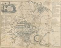 Vintage Map of Edinburgh Scotland (1818)