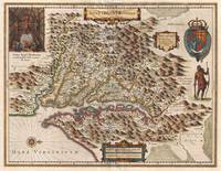 Vintage Map of Virginia (1630)