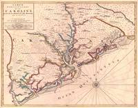 Vintage Map of South Carolina (1690)