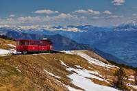 Schafberg Bahn Reaching the Summit