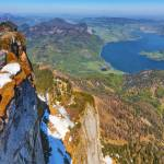 """Himmelspforte at Schafbergspitze and Mondsee"" by cdomenig"