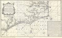 Vintage Map of Eastern North Carolina (1738)