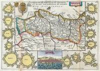 Vintage Map of Portugal (1747)