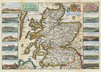 Vintage Map of Scotland (1747)