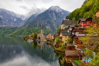 Hallstatt in the Rain