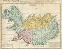 Vintage Map of Iceland (1761)