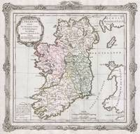 Vintage Map of Ireland (1766)
