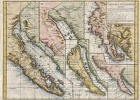 Vintage Map of California (1772)