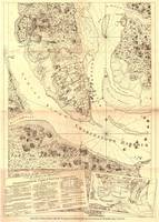 Vintage Map of Charleston South Carolina (1780)