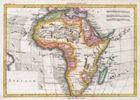 Vintage Map of Africa (1780)