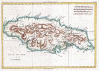 Vintage Map of Jamaica (1780) 2