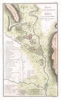 Vintage Map of Sparta Greece (1783)