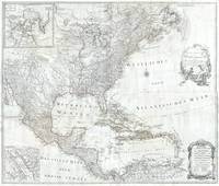 Vintage Map of North America (1788)