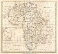 Vintage Map of Africa (1799)