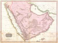 Vintage Map of Saudi Arabia (1818)