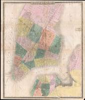 Vintage Map of New York City (1835)