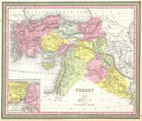 Vintage Map of Turkey (1850)