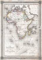 Vintage Map of Africa (1852)