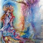 """LADY OF LAKE , Magic and Mystery"" by BulganLumini"