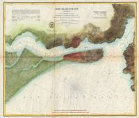 Vintage Mare Island Strait and Vallejo Map (1857)
