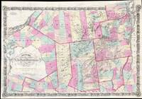 Vintage Map of The Adirondack Mountains (1867)