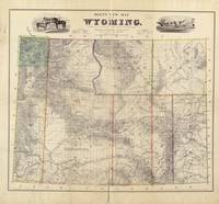 Vintage Map of Wyoming (1883)