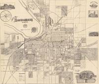 Vintage Map of Montgomery Alabama (1899)