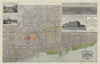 Vintage Map of Chicago (1912)